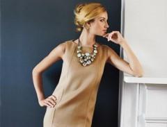 Shift dress elegante e casual .