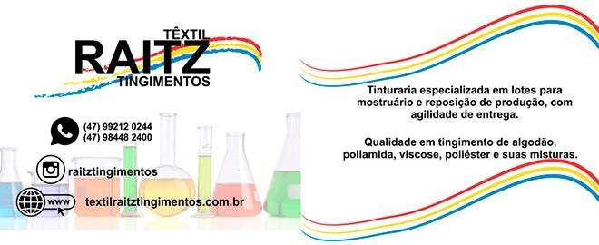 Banner - Textil Raitz Tinturaria e Tingimentos